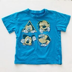 10/$30 DISNEY 5T Mickey Mouse Graphic T-Shirt